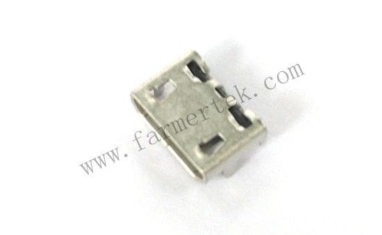 MICRO USB 5PIN PH:0.65mm    H:2.50mm 4DIP TYPE